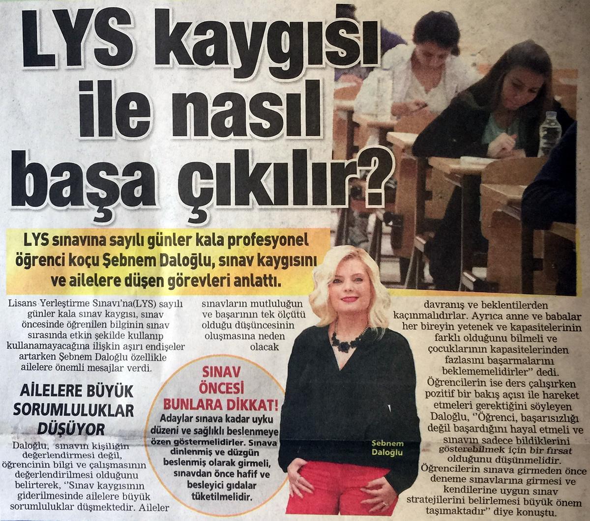 Posta Ankara Eki - 23 Mayıs 2015